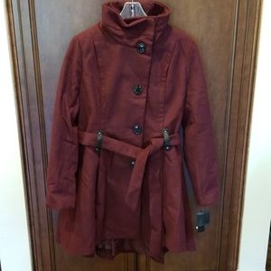 Winterberry Coat in Burgundy sz XL winter Coat